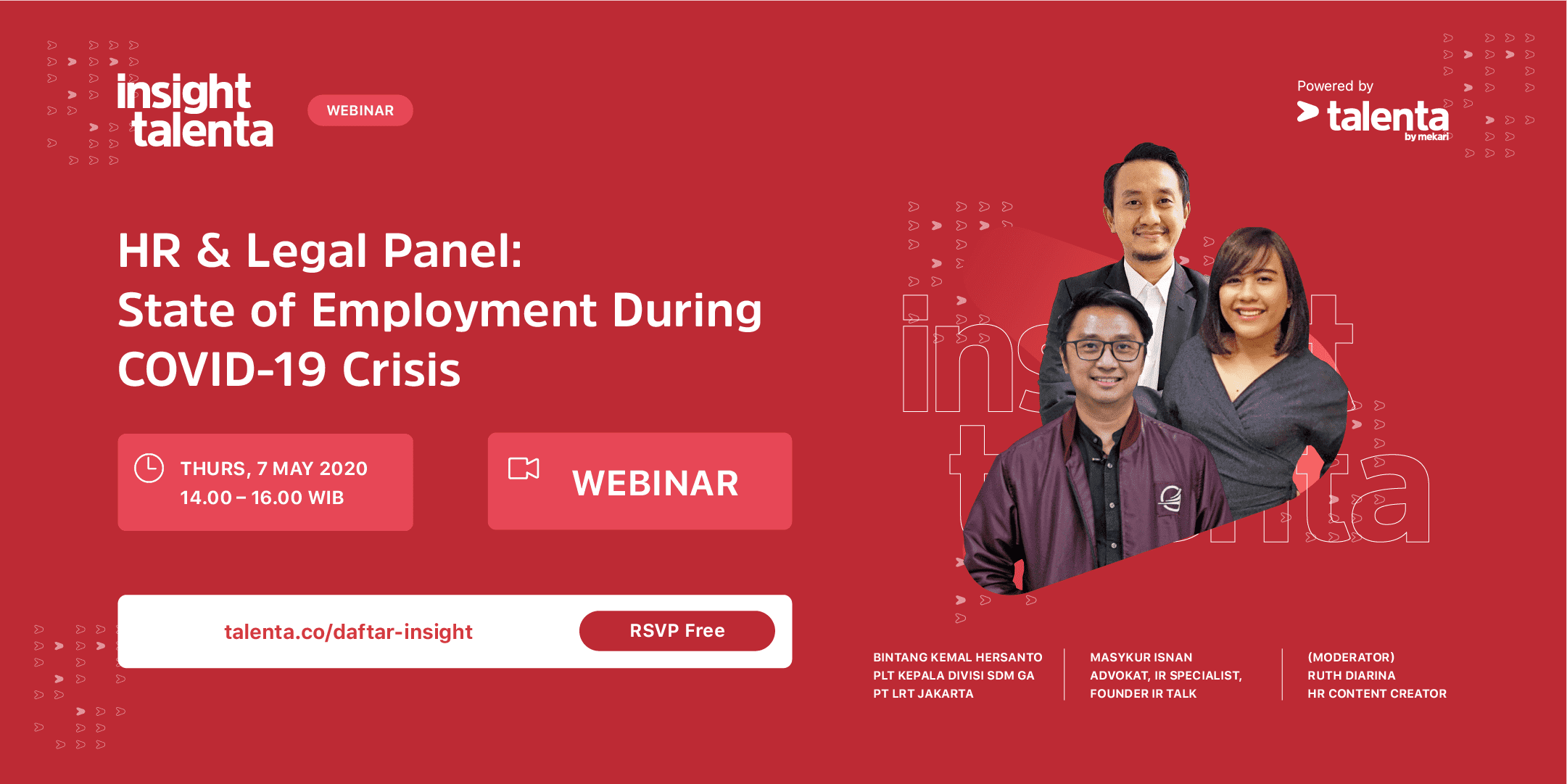 Insight Talenta – HR & Legal Panel : State of Employement During COVID-19 Crisis
