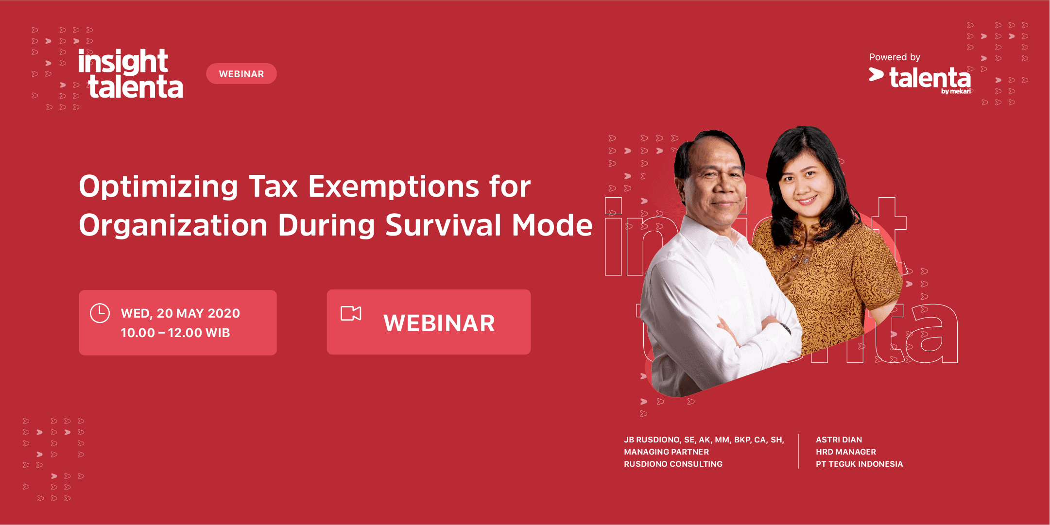 Insight Talenta – Optimizing Tax Exemptions for Organization During Survival Mode