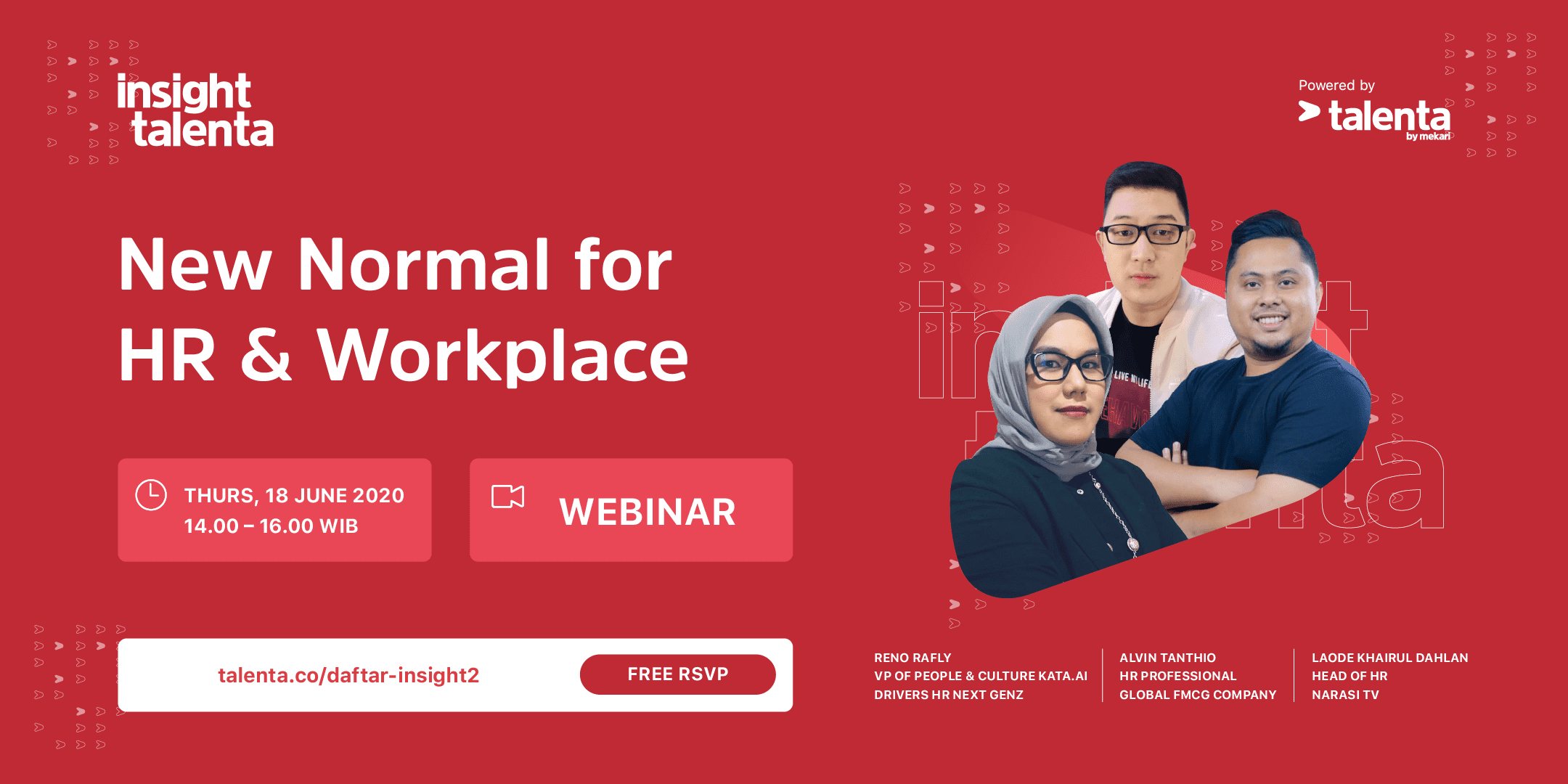 Insight Talenta – New Normal for HR & Workplace