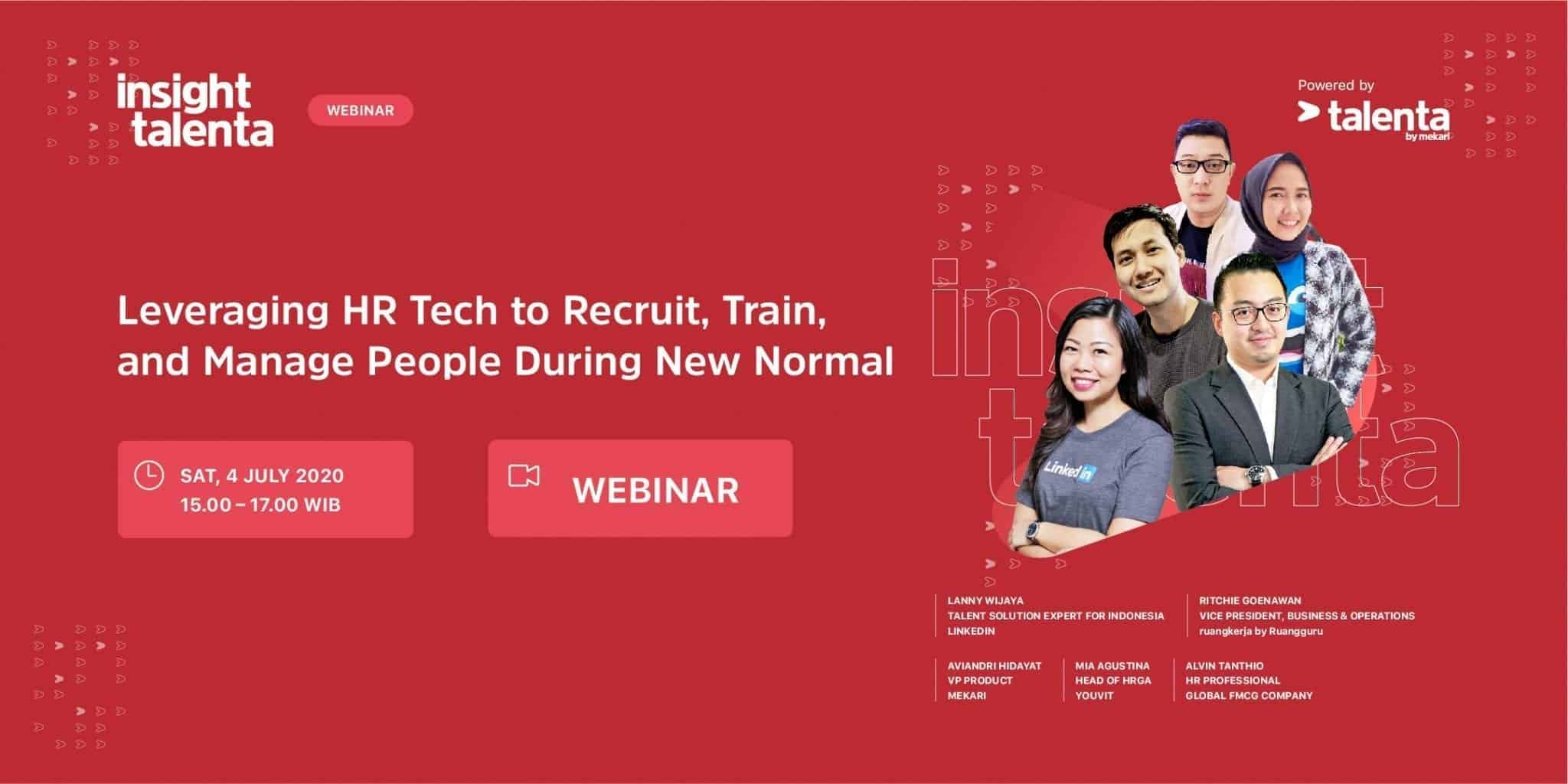 Insight Talenta Leveraging HR Tech to Recruit, Train and Manage People During New Normal